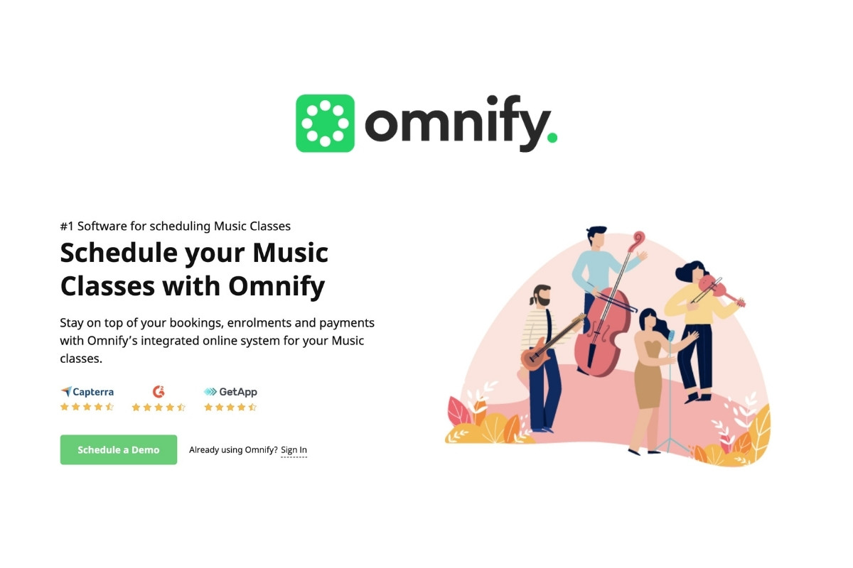 omnify music scheduling software