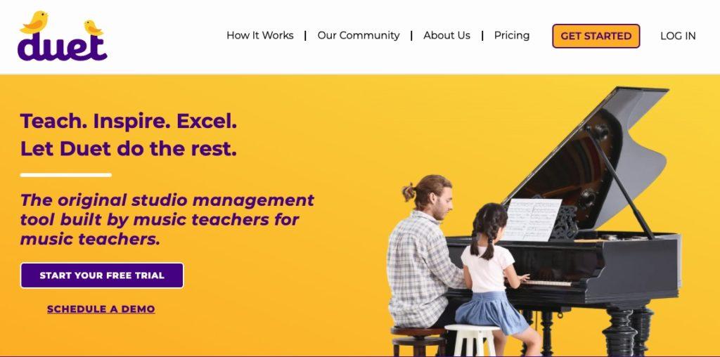 duet music teachers helper